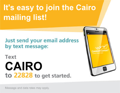 Join the Cairo Mailing List