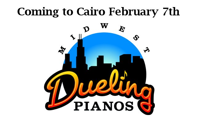 dueling pianos Cairo QRT