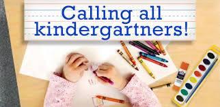 calling all Kindergarners
